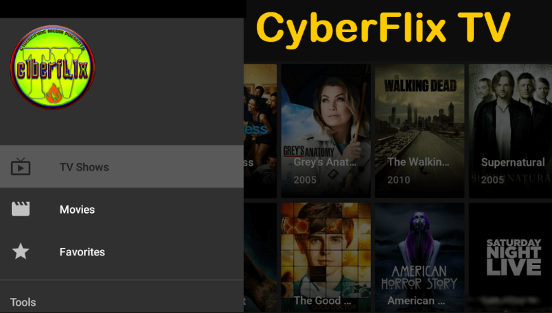CyberFlix TV Download on PC