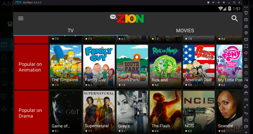 TVZion for PC