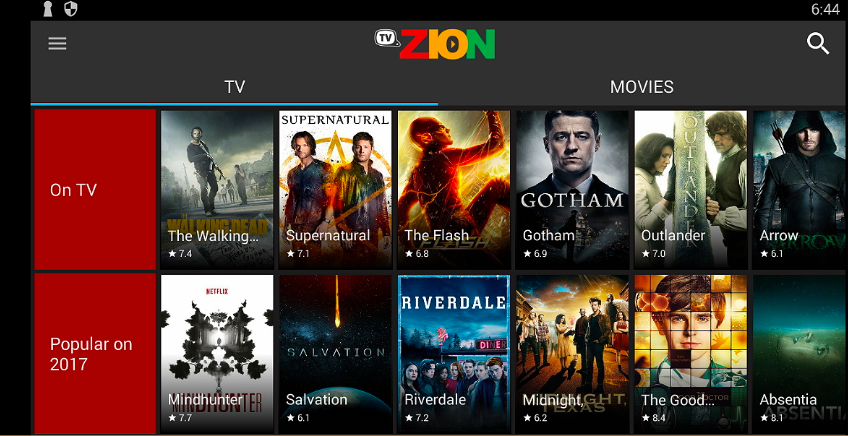 TVZion APK Download on Mac