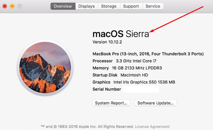 macOS Sierra - Nox Emulator