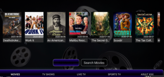 Watch Movies & TV Shows with Strix App on PC