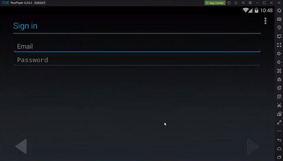 Login to Google Account - Nox Player