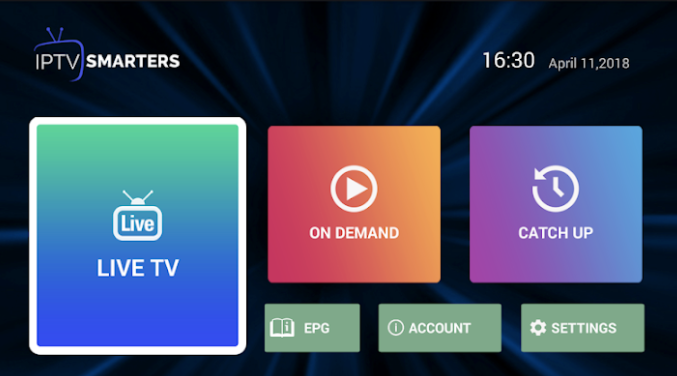 IPTV Smarters Pro Installed on PC - Nox Emulator