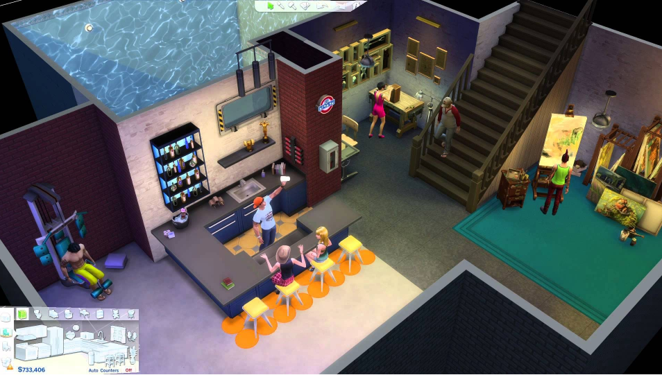 The Sims FreePlay Game Installed on PC - Nox