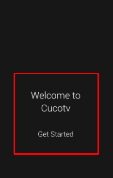 CucoTV APK User Interface on PC