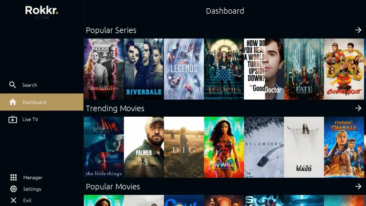 Movies on Rokkr